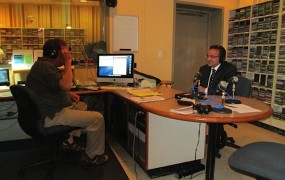 WHFR FM hosted an interview with candidate Mike Sareini